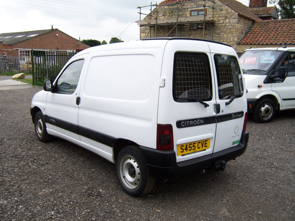 1999 s citroen berlingo 1 9 diesel 120k no vat mark. Black Bedroom Furniture Sets. Home Design Ideas